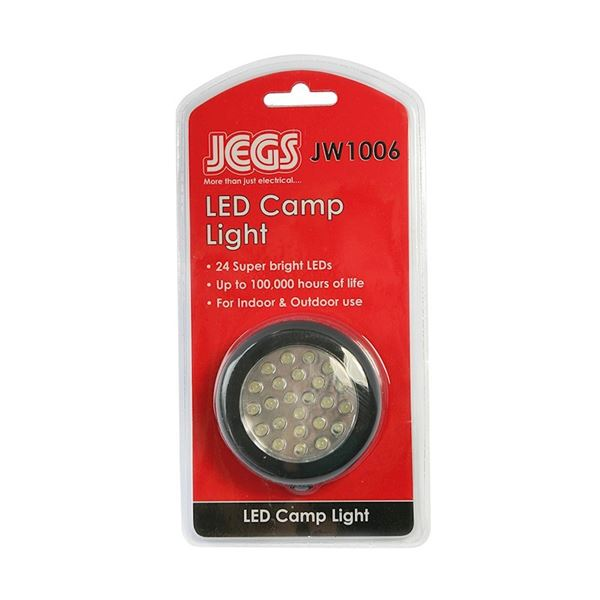 Jegs Super Bright LED Camp Light
