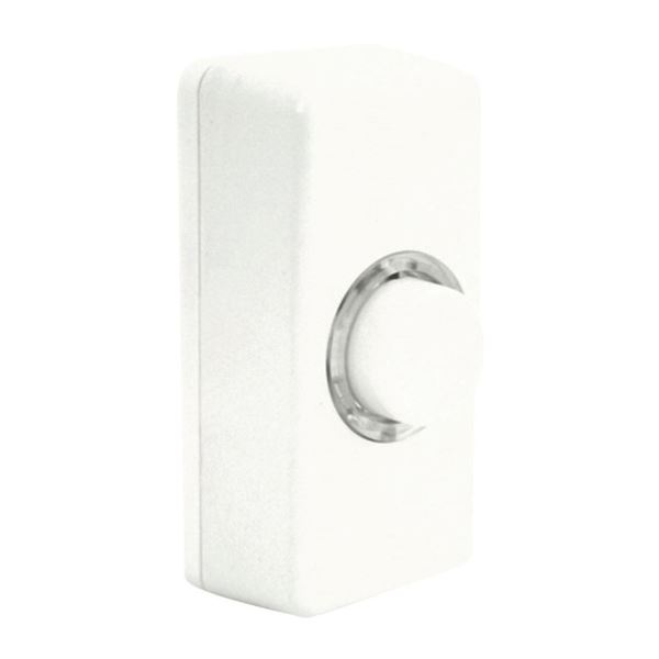 Eterna Door Bell - Black / White - Illuminated