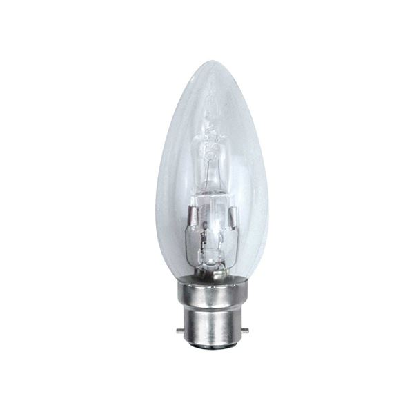 Bell Candle Light Bulb - 28W - Halogen BC