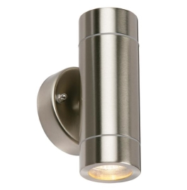 Saxby Palin PIR Downlight Twin Pack - Brushed Steel
