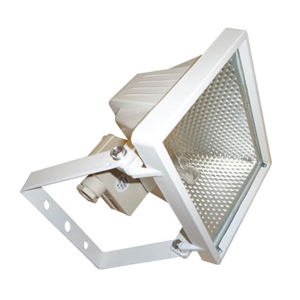 400W Halogen Flood Light White
