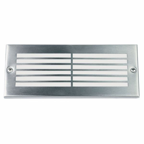 Outdoor Brick Light Fitting - Stainless Steel