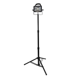 Faithfull LED Single Head Tripod 20W - 110 Volt