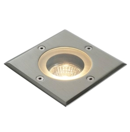 Saxby Pillar Recessed Outdoor Light - Square - 50 Watt