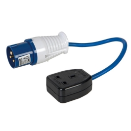 Faithfull Fly Lead - 3 Pin & Socket - 240 Volt