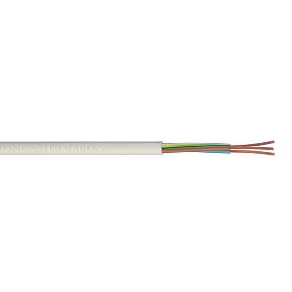 Jegs 3 Core Round Cable - 2.5mm x 5Mt