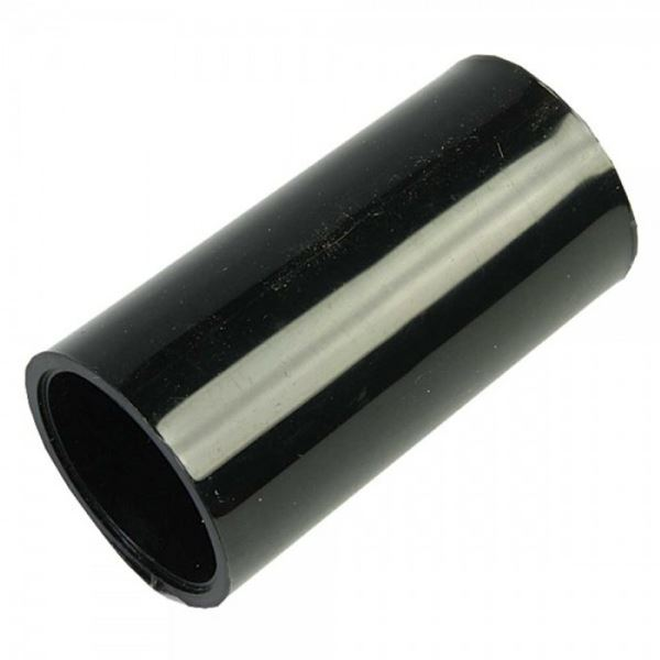 Conduit Straight Coupler 25mm - Black - (Pack of 2)