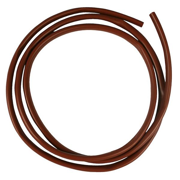 Jegs Earth Sleeving - Brown - 4mm x 1Mt