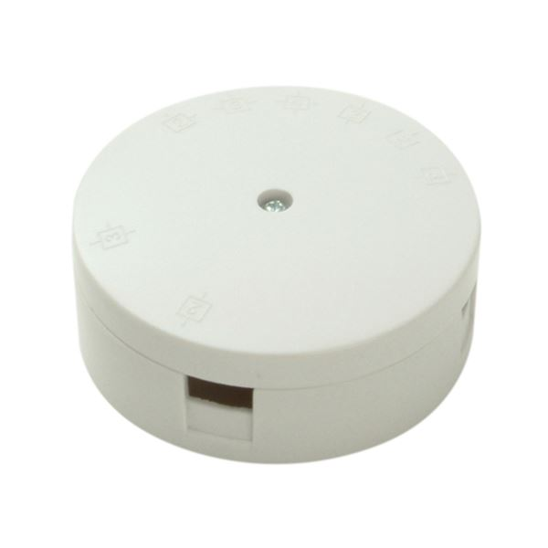 Jegs Junction Box - White - 30 Amp - 3 Terminal