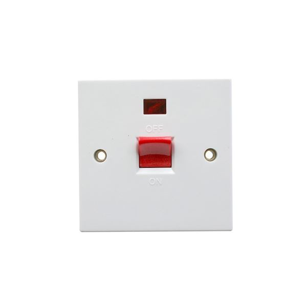 Jegs Cooker Switch - 45 Amp with Neon