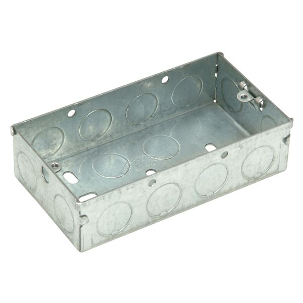 Jegs Metal Box 25mm - Double