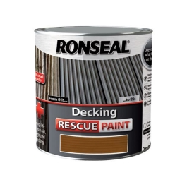 Ronseal Decking Rescue Paint 2.5Lt - Maple