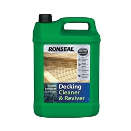 Ronseal Decking Cleaner & Reviver 5Lt