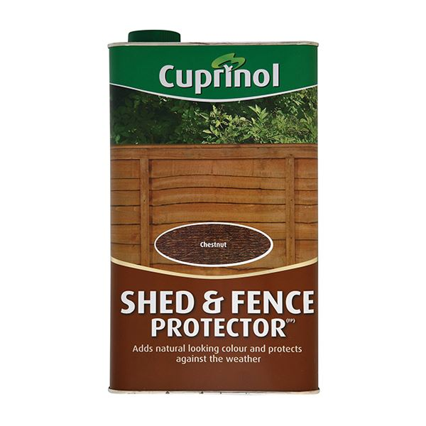 Cuprinol Shed & Fence Protector 5Lt - Acorn Brown