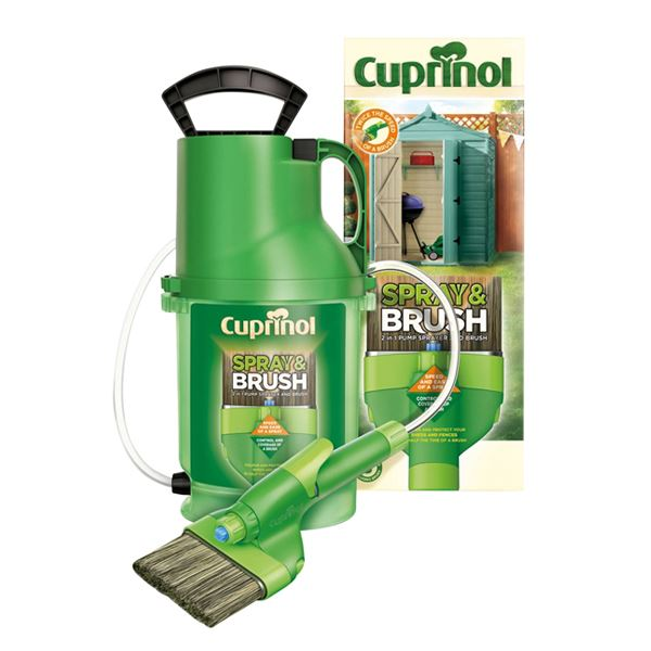 Cuprinol Spray & Brush - 2 in 1 Pump Sprayer