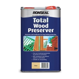 Ronseal Total Wood Preserver 2.5Lt - Clear
