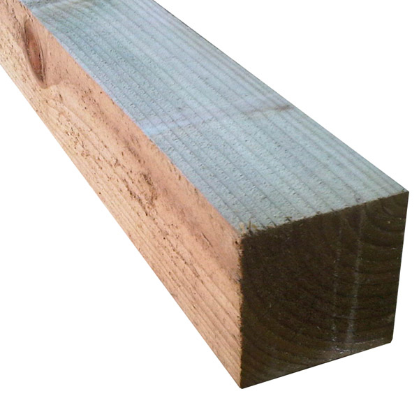 Treated Post - 100mm x 100mm x 1.8Mt