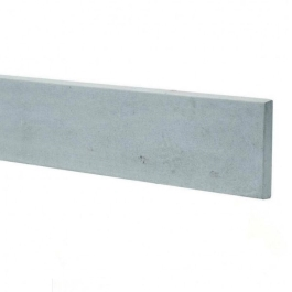 Concrete Base Panel - 6Ft x 1Ft - Plain