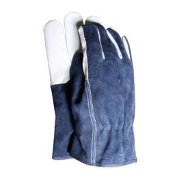 Town & Country Gloves - Leather Palm - Blue