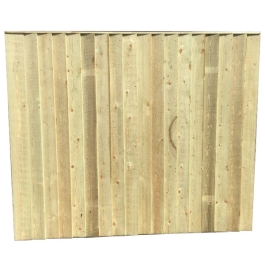 Vertical Close Board Panel - 6Ft Wide x 4Ft High