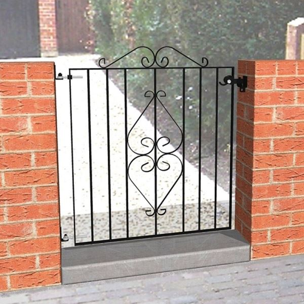 Ascot Metal Gate - 910mm High  x 815mm Wide - (For Opening 900mm To 1000mm)