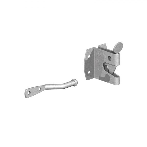 Gate Mate - Auto Gate Catch - Large - Galvanised