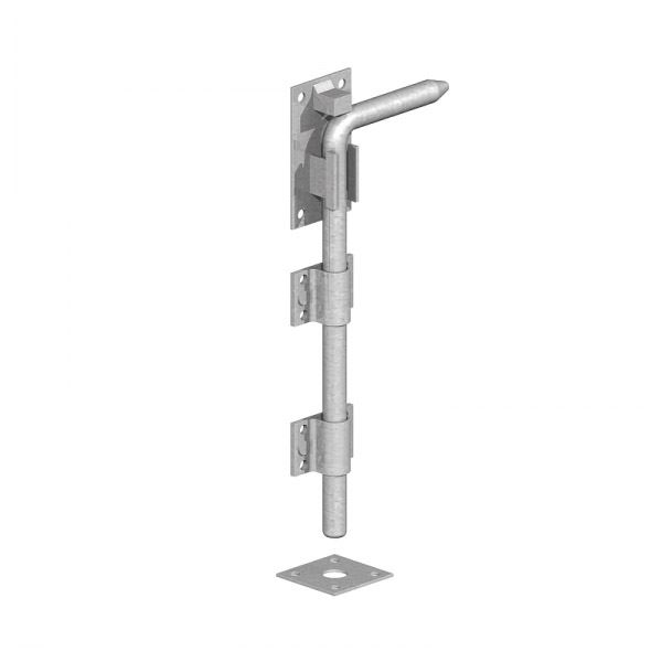 Gate Mate - Garage Door Bolt 450mm - Galvanised