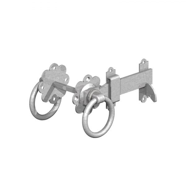 Gate Mate - Ring Latch 150mm - Galvanised