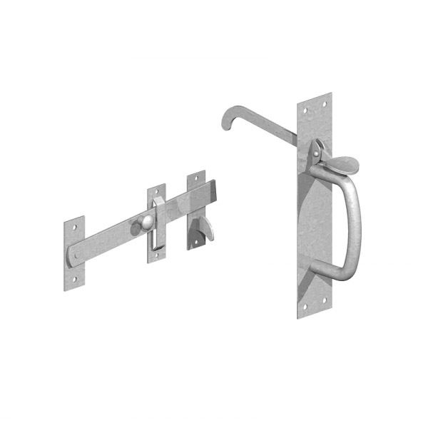 Gate Mate - Suffolk Latch - Heavy Duty - BZP
