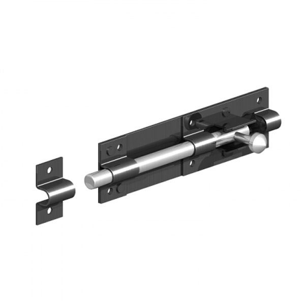Gate Mate - Tower Bolt 100mm - Black