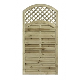 Arched Lattice Top Gate - 0.9Mt Wide x 1.8Mt High