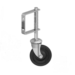 Field Gate - Spring Loaded Gate Wheel - 280mm - Galvanised