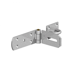 Gate Mate - Hasp & Staple 200mm - Heavy Duty - Galvanised