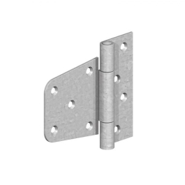 Gate Mate - Oval Padbolt 100mm - Galvanised