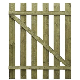 Paling Fence Gate - 3Ft x 3Ft