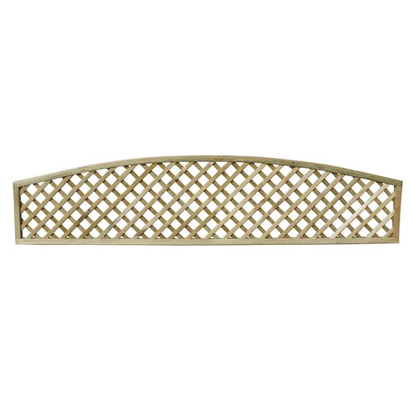 Arched Diamond Lattice - 1.83Mt x 0.6Mt