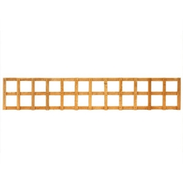 Square Trellis Panel - 6Ft Wide x 1Ft High