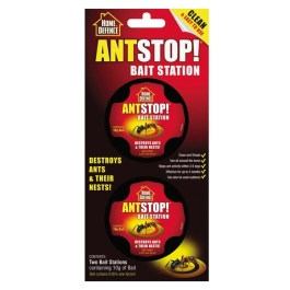 Home Defence - Ant Stop Bait Station - (2 x 8g)