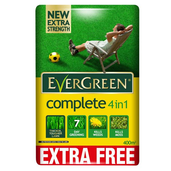 Evergreen Complete - 4 in1 Bag - 360sq/m + 10%