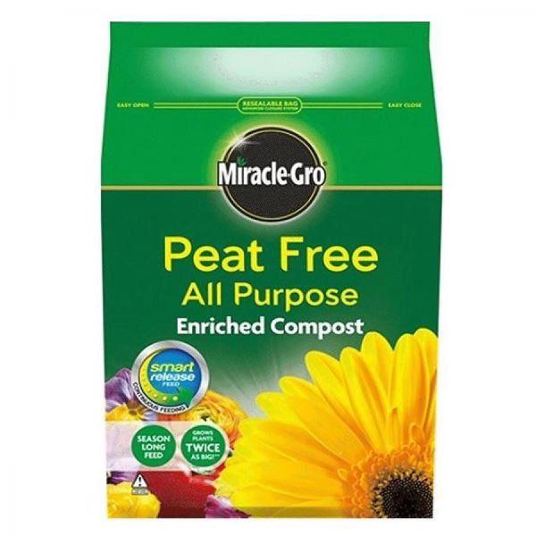 Miracle-Gro Compost 8Lt - Peat Free