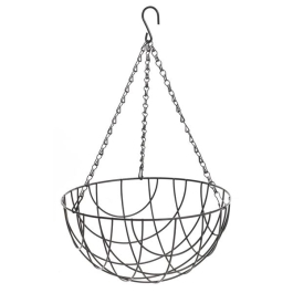 Apollo Hanging Basket - Wire 14""