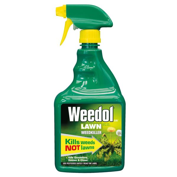 Weedol Lawn Weedkiller 800ml - Spray