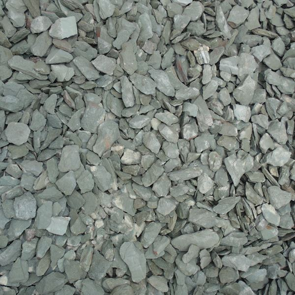 Bulk Bag Of Green Slate Chippings