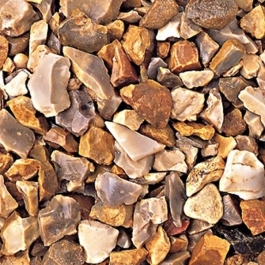 Bulk Bag Of Golden Flint 20mm