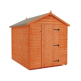 Tiger Value Overlap Apex Shed - Secure Store - 9Ft Length x 8Ft Width