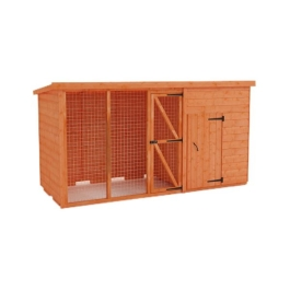 Tiger Pethouse & 6ft Run - 4Ft Length x 4Ft Width
