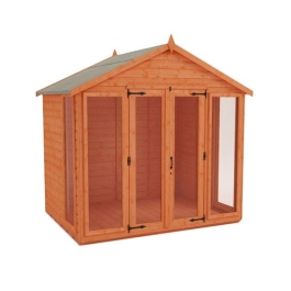 Tiger Contemporary Summerhouse - 8Ft Length x 8Ft Width