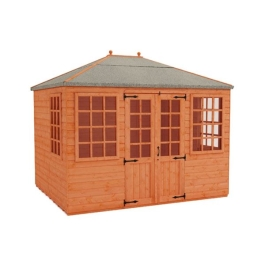 Tiger Mayflower Summerhouse - 10Ft Length x 8Ft Width