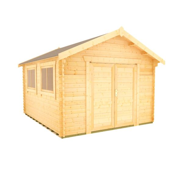 The Javan - 28mm Log Cabin - 10Ft Length x 8Ft Width