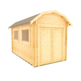 The Alpha Barn - 28mm Log Cabin - 12Ft Length x 8Ft Width